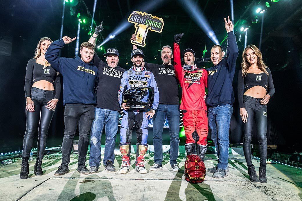 SR75 Suzuki wins 2019 Arenacross Team Championship