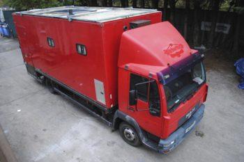 MAN LE Motorhome/Race Truck/Motocross Lorry