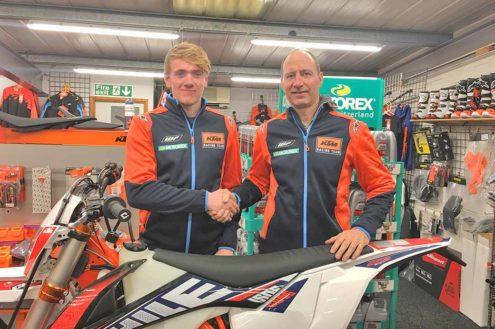 Eurotek KTM sign Junior SuperEnduro Champion