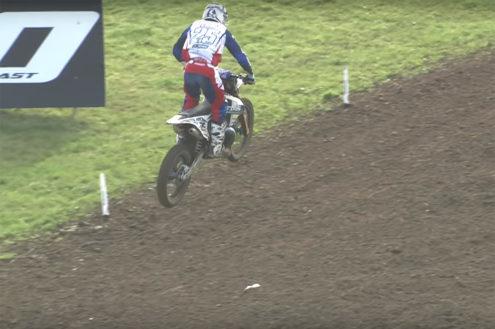 Jamie Law crash EMX2T at Matterley Basin – official video