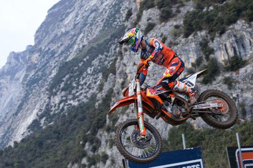Full podium presence in Trentino as Jorge Prado continues MX2 victory run