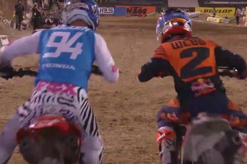 Las Vegas 450SX Main Event Highlights – 2019 Monster Energy Supercross