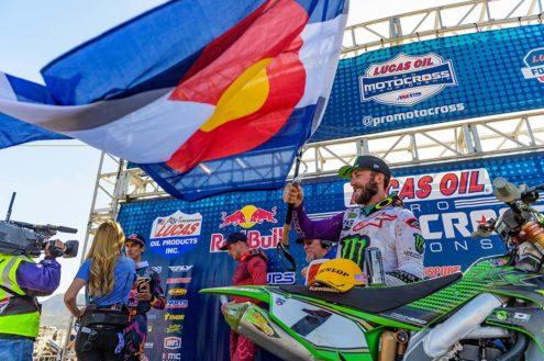 Eli Tomac on his Fox Raceway National victory