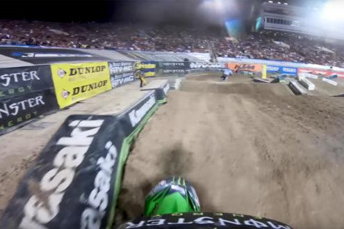 Adam Cianciarulo GoPro: Las Vegas Supercross Main Event 2019