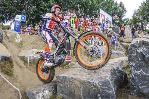 Bou bosses TrialGP Netherlands Qualification
