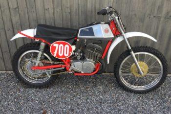 1974 CZ 380 Scrambler