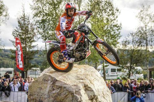 Repsol Honda Team riders ready for Trials des Nations