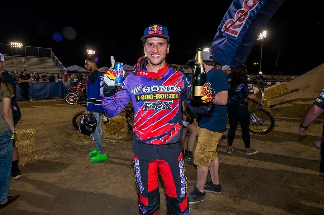 Ken Roczen dominates at Red Bull Straight Rhythm