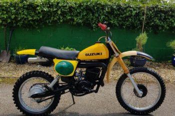 Suzuki Motocross RM250 C2 Vintage Very Rare
