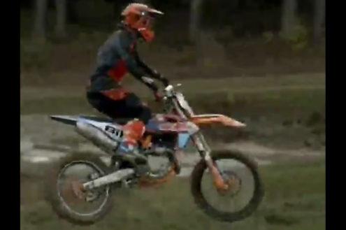 First Look: Adam Sterry 450 KTM testing