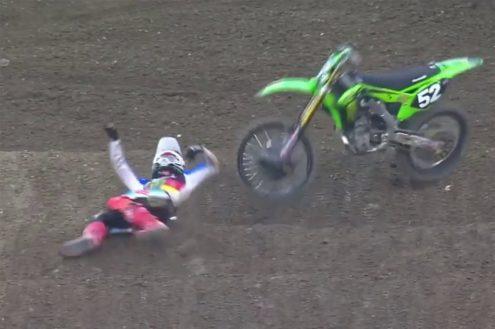 VIDEO: Austin Forkner Anaheim crash 2020