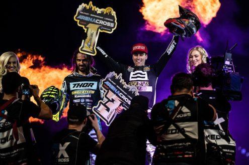 Suzuki RM-Z450 wins fifth Arenacross championship