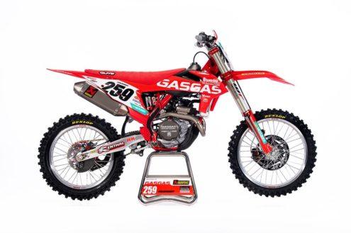 GasGas 2020 Motocross World Championship bikes revealed