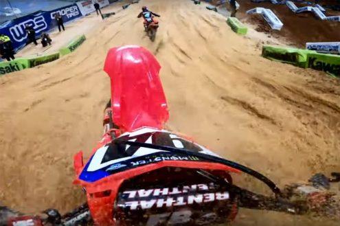 VIDEO: Ken Roczen GoPro – Atlanta Main Event