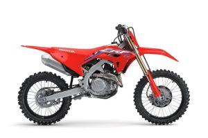 2021 Honda CRF450R - side view