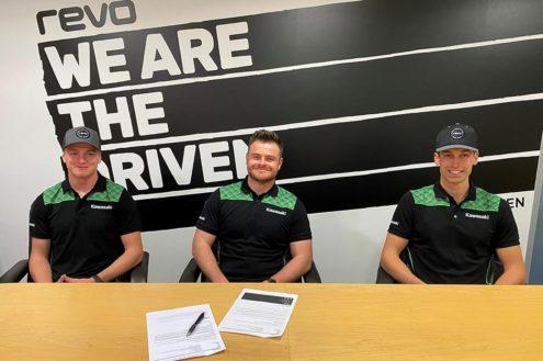 Dylan Walsh and James Dunn get 2021 deal with REVO Seven Kawasaki