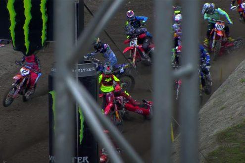 VIDEO: Jeremy van Horebeek crash – Trentino Pietramurata MXGP 2020