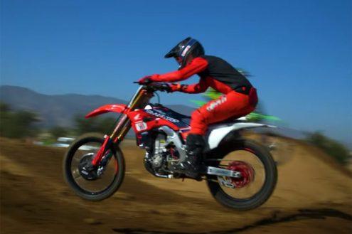 VIDEO: Broc Tickle turning laps on Smartop MotoConcepts Honda