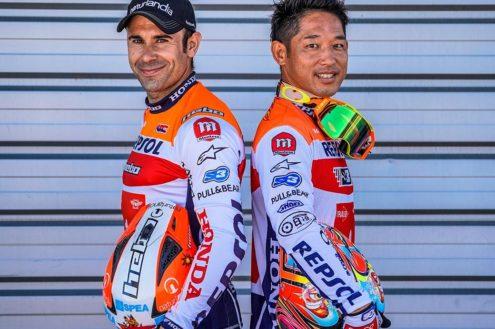 Toni Bou and Takahisa Fujinami