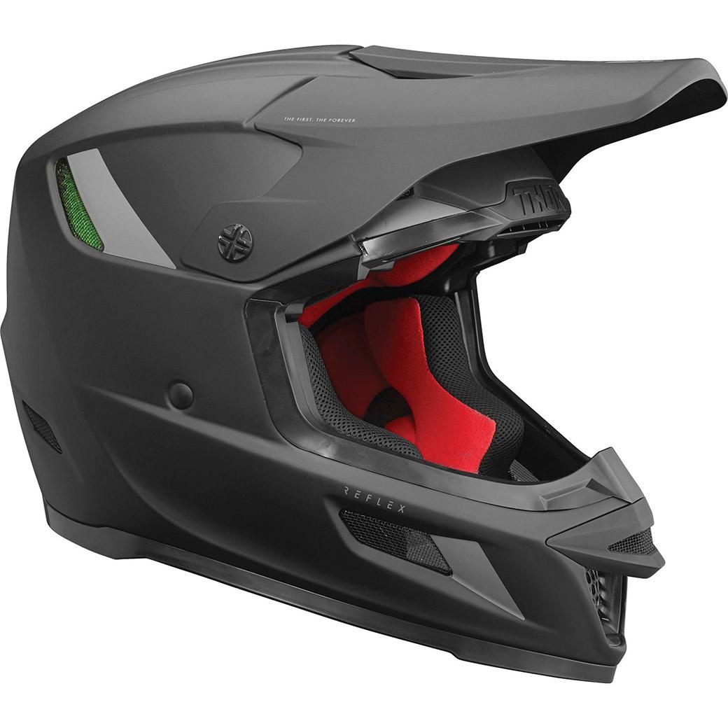 Motocross helmet THOR Reflex Blackout