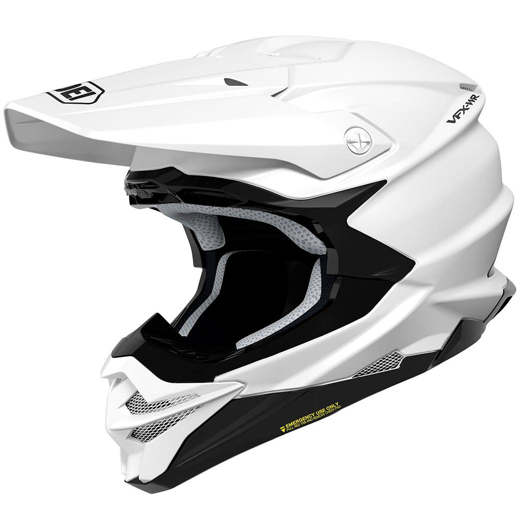 Motocross helmet Shoei VFX-WR White